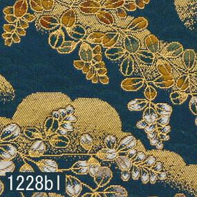 Japanese woven fabric Kinran  1228bl