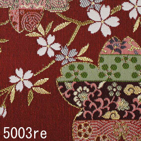 Japanese woven fabric Kinran  5003re