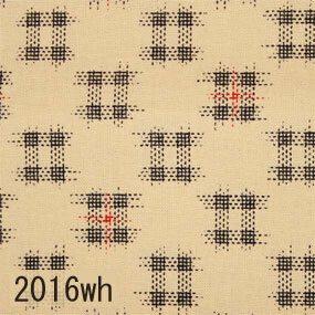 Japanese woven fabric Momen  2016wh