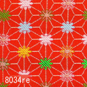 Japanese woven fabric Kinran  8034re