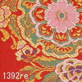 Japanese woven fabric Kinran  1392re