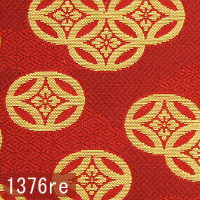 Japanese woven fabric Kinran  1376re