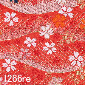 Japanese woven fabric Kinran  1266re