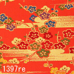 Japanese woven fabric Kinran  1397re