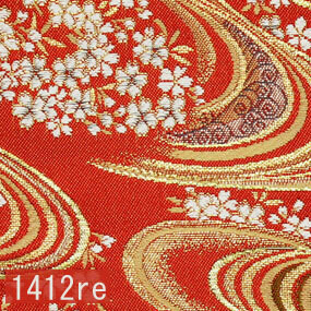 Japanese woven fabric Kinran  1412re