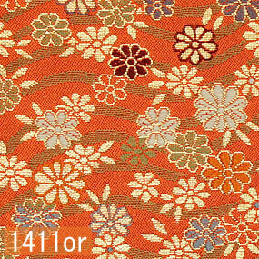 Japanese woven fabric Kinran  1411or