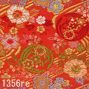 Japanese woven fabric Kinran  1356re