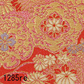 Japanese woven fabric Kinran  1285re