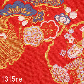 Japanese woven fabric Kinran  1315re