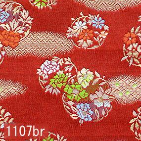Japanese woven fabric Kinran  1107br