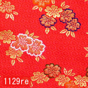 Japanese woven fabric Kinran  1129re