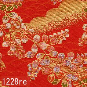 Japanese woven fabric Kinran  1228re