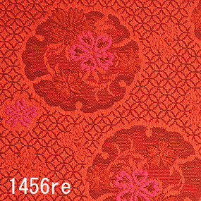 Japanese woven fabric Kinran  1456re