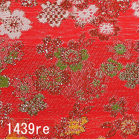 Japanese woven fabric Kinran  1439re
