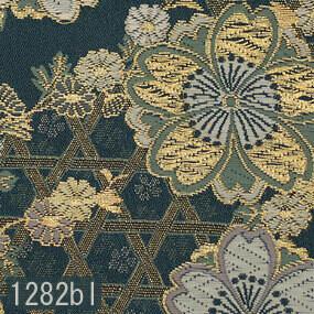 Japanese woven fabric Kinran  1282bl