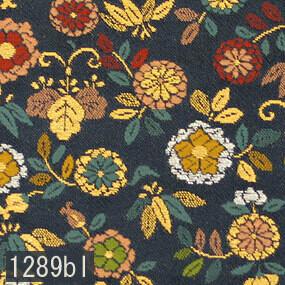 Japanese woven fabric Kinran  1289bl