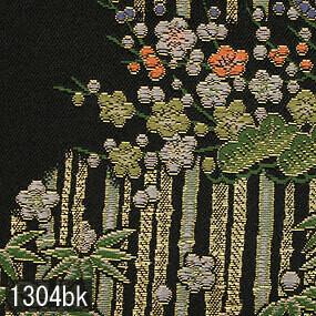 Japanese woven fabric Kinran  1304bk