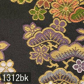 Japanese woven fabric Kinran  1312bk