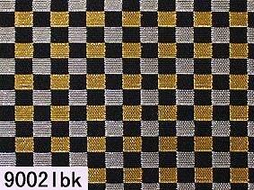 Japanese woven fabric Kinran  9002lbk