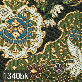 Japanese woven fabric Kinran  1340bk