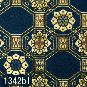 Japanese woven fabric Kinran  1342bl