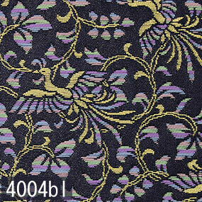 Japanese woven fabric Kinran  4004bl