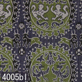 Japanese woven fabric Kinran  4005bl