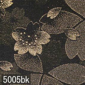 Japanese woven fabric Kinran  5005bk
