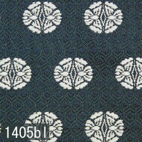Japanese woven fabric Kinran  1405bl