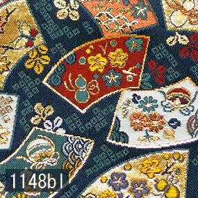 Japanese woven fabric Kinran  1148bl