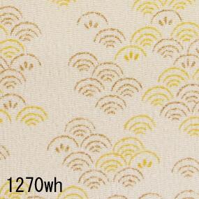 Japanese woven fabric Chirimen  1270wh