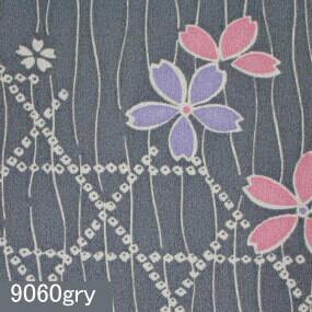 Japanese woven fabric Yuzen  9060gry