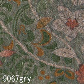 Japanese woven fabric Yuzen  9067gry