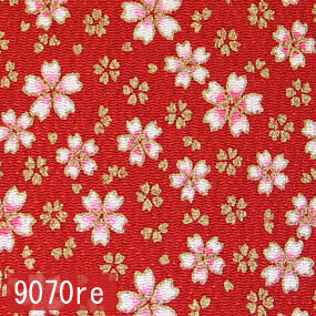 Japanese woven fabric Chirimen  9070re