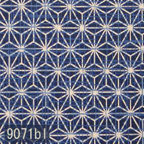 Japanese woven fabric Momen 9071bl