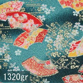 Japanese woven fabric Yuzen  1320gr
