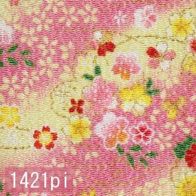 Japanese woven fabric Chirimen  1421pi