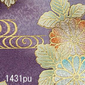 Japanese woven fabric Yuzen 1431pu