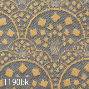 Japanese woven fabric Kinran  1190bk