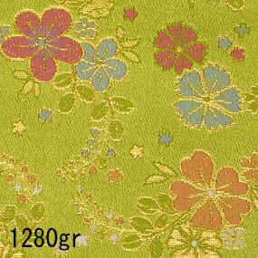 Japanese woven fabric Kinran  1280gr