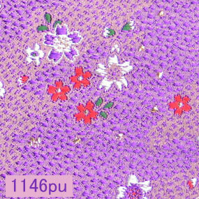 Japanese woven fabric Kinran  1146pu