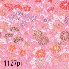 Japanese woven fabric Kinran  1127pi
