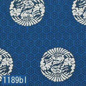 Japanese woven fabric Kinran  1189bl