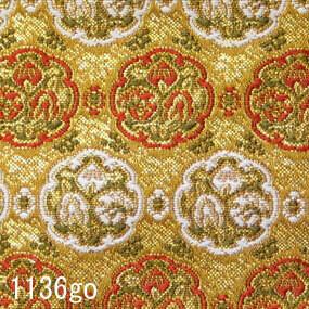 Japanese woven fabric Kinran  1136go
