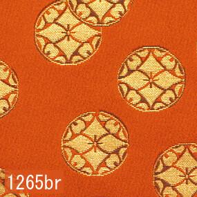 Japanese woven fabric Kinran  1265br