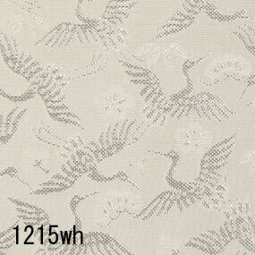 Japanese woven fabric Kinran  1215wh