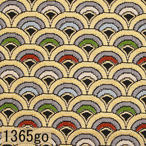 Japanese woven fabric Kinran  1365go