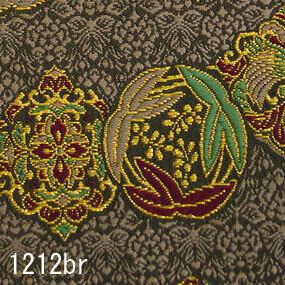 Japanese woven fabric Kinran  1212br