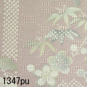 Japanese woven fabric Yuzen 1347pu