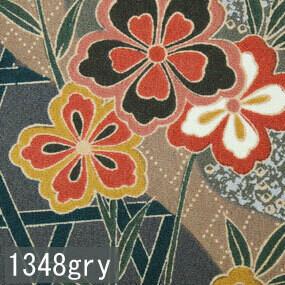 Japanese woven fabric Yuzen 1348gry